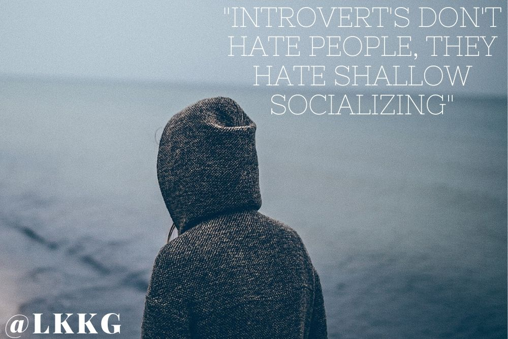 introverted personalities or introverts