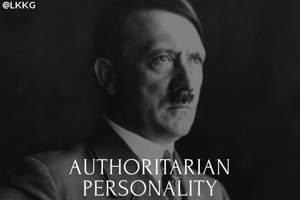 Authoritarian personality theory